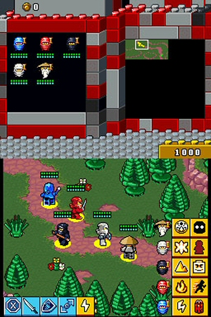 LEGO Battles: Ninjago - NDS Image