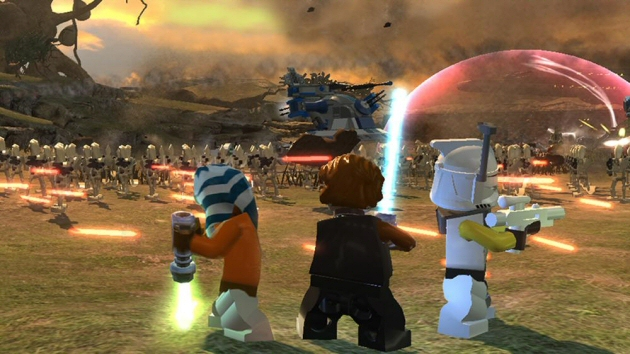 LEGO Star Wars III: The Clone Wars Boxart