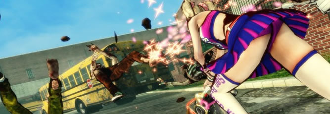 Lollipop Chainsaw - Feature