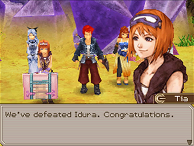 Lufia: Curse Of The Sinistrals - NDS Screenshot - 624356