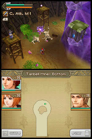 Lufia: Curse Of The Sinistrals - NDS Image