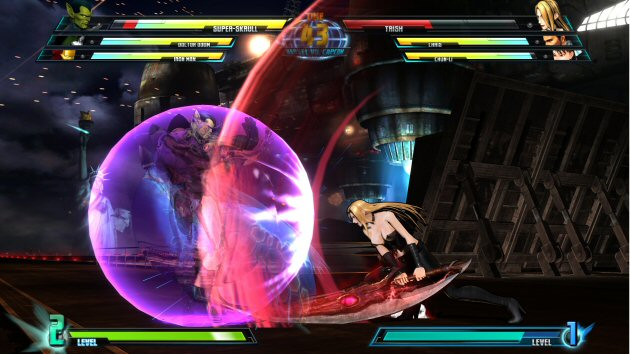 Marvel vs Capcom 3: Fate of Two Worlds Screenshot - 867915