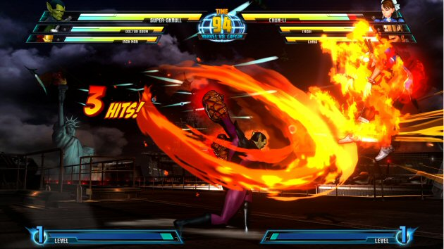 Marvel vs Capcom 3: Fate of Two Worlds Screenshot - 868048