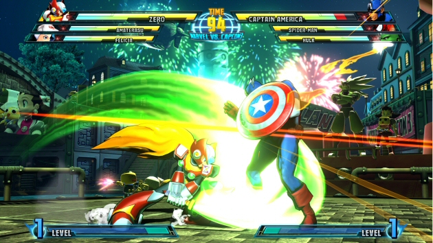 Marvel vs Capcom 3: Fate of Two Worlds Screenshot - 868180