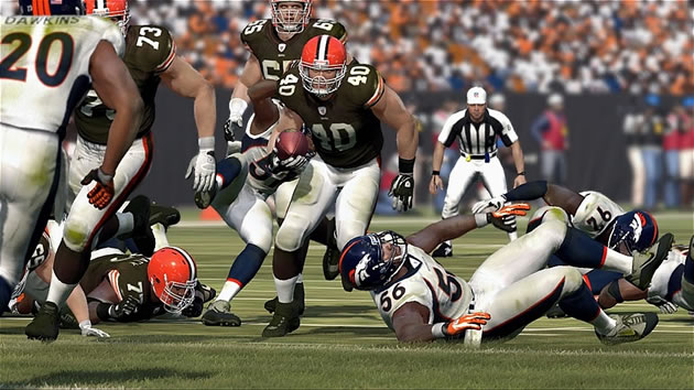 Madden 12 Peyton Hillis vs Broncos