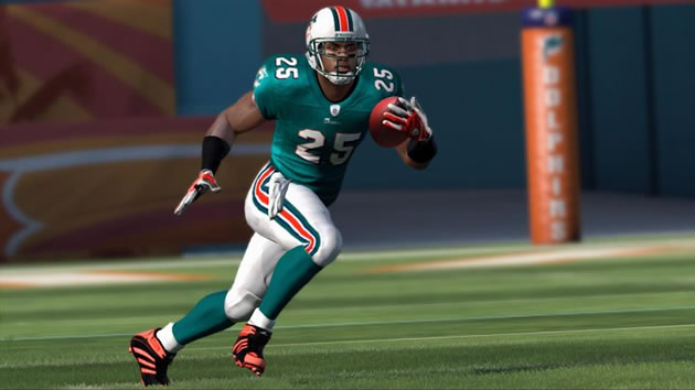 Madden 12 Reggie Bush Dolphins