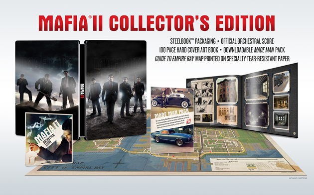 Mafia II Collector's Edition Boxart