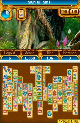 Mahjong Journey: Quest for Tikal - NDS - Feature