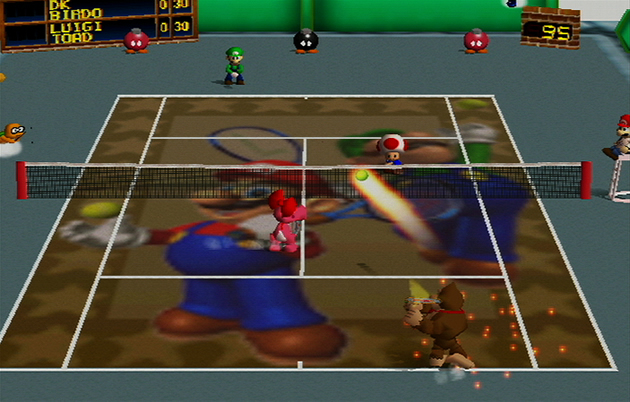 Mario Tennis Boxart