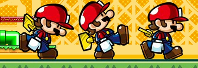 Mario vs. Donkey Kong: Mini-land Mayhem! - NDS Image
