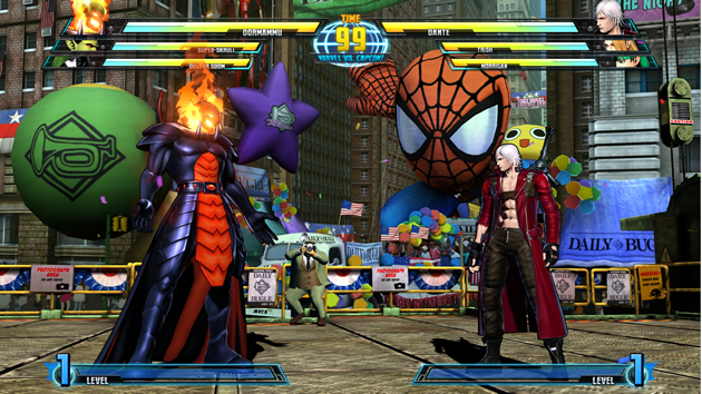 Marvel vs Capcom 3: Fate of Two Worlds Screenshot - 868170