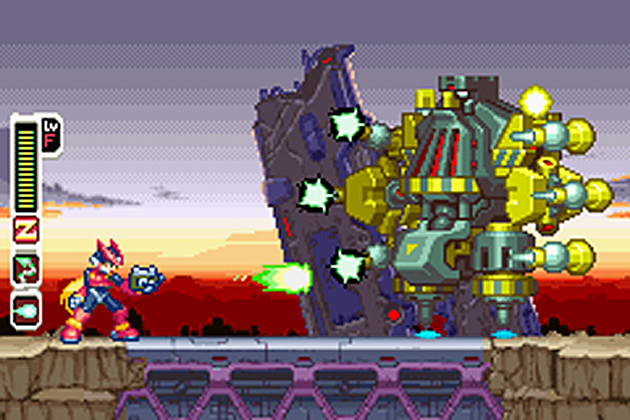 Mega Man ZERO Collection - NDS Screenshot - 867183