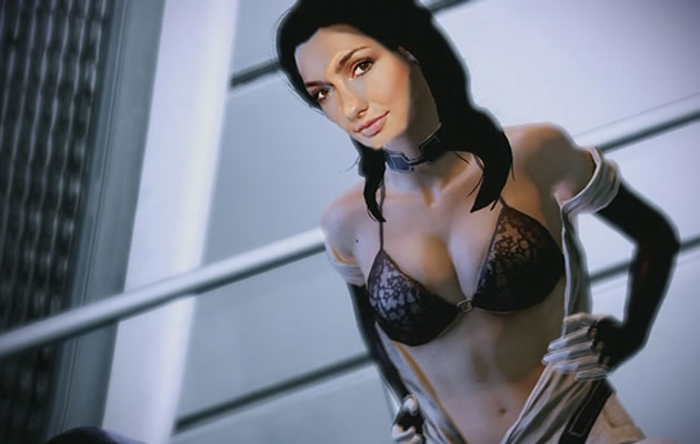 Minka Kelly as Miranda from Mass Effect 2