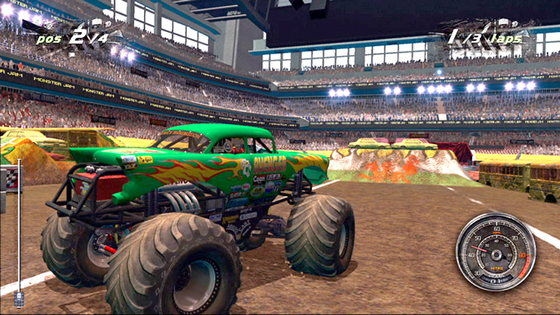 Monster Jam: Path of Destruction - Feature