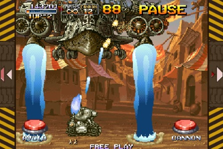 METAL SLUG 2 - Feature