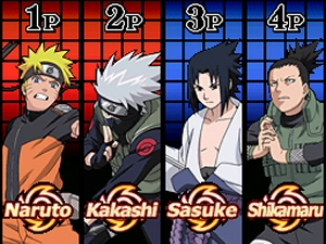 Naruto Shippuden: Shinobi Rumble - NDS Boxart