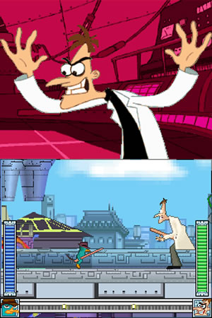 Phineas and Ferb: Ride Again - NDS Screenshot - 799957