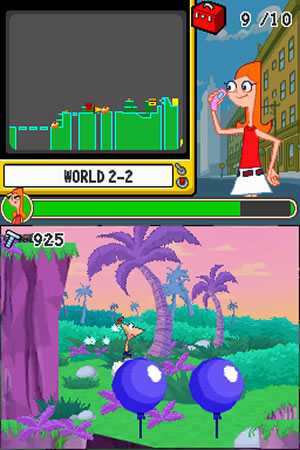 Phineas and Ferb: Ride Again - NDS Image
