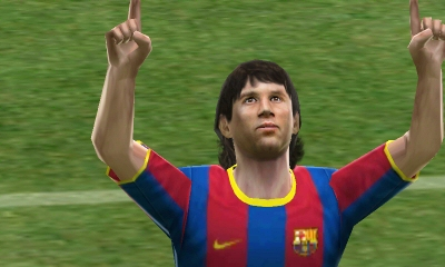 Pro Evolution Soccer 2011 3D Screenshot - 826541