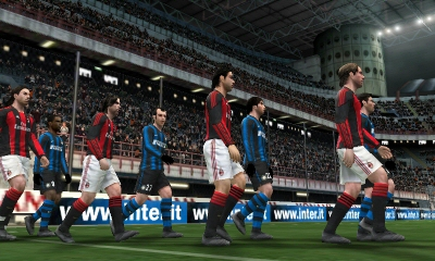 Pro Evolution Soccer 2011 3D Image