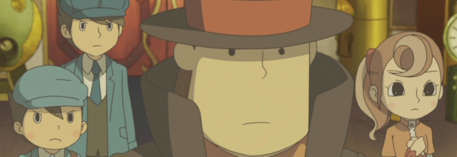 Professor Layton and the Unwound Future - NDS