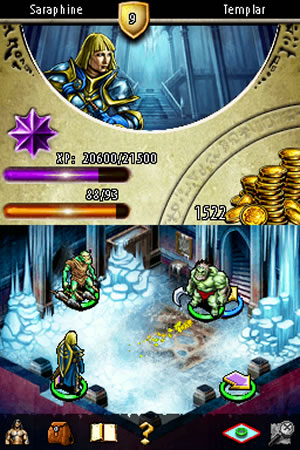 Puzzle Quest 2 - NDS Image