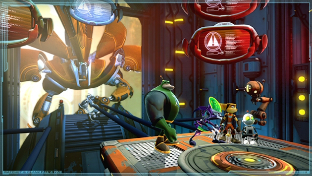Ratchet &amp; Clank: All 4 One Boxart