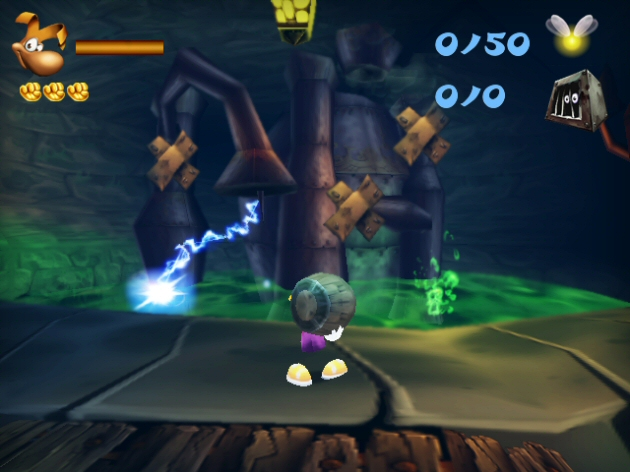 Rayman 3D - Feature