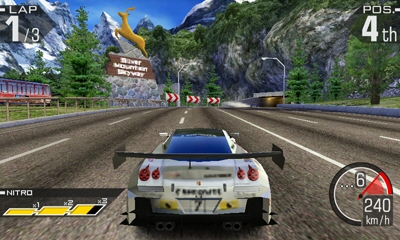 Ridge Racer 3D Image