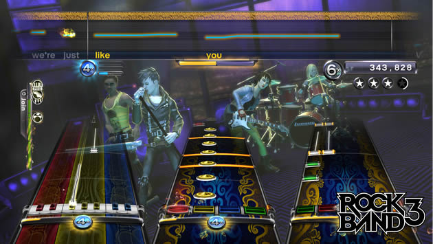 Rock Band 3 - Feature