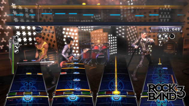 Rock Band 3 Screenshot - 868169