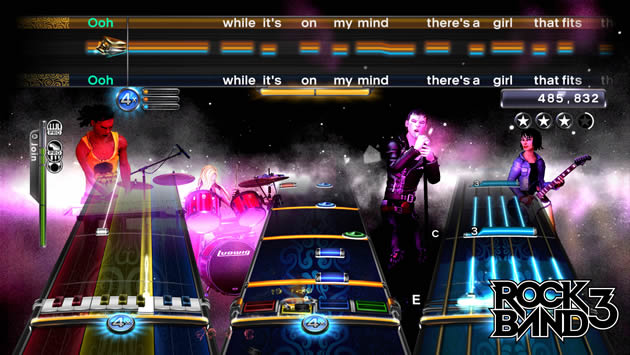Rock Band 3 Screenshot - 868775
