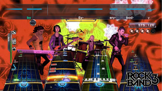 Rock Band 3 Screenshot - 868215