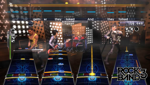 Rock Band 3 Screenshot - 868056