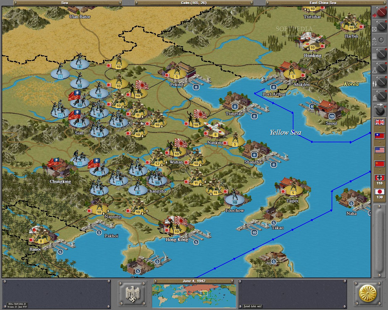 Strategic Command WWII Global Conflict Demo