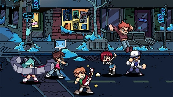 Scott Pilgrim vs. The World: The Game - Feature