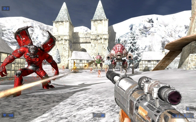 Serious Sam HD: The Second Encounter - Feature