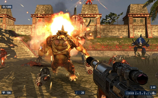Serious Sam HD: The Second Encounter Screenshot - 868287