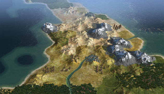 Sid Meier's Civilization V - Feature