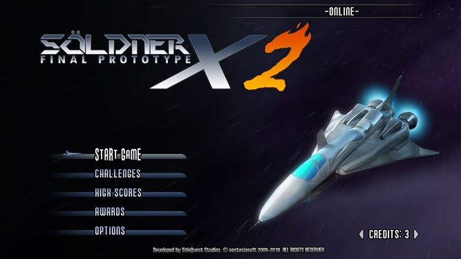 Soldner-X 2: Final Prototype - Feature