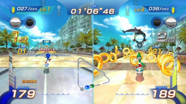 Sonic Free Riders Image