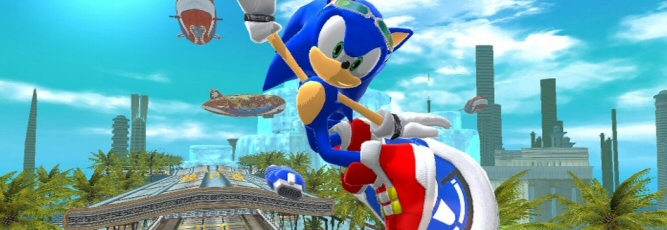 Sonic Free Riders Screenshot - 866593