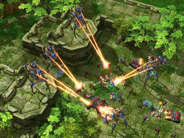 StarCraft II: Wings of Liberty Screenshot - 867353