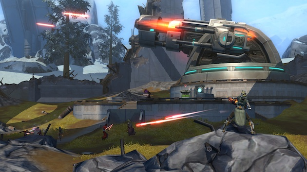 Star Wars the Old Republic screenshot