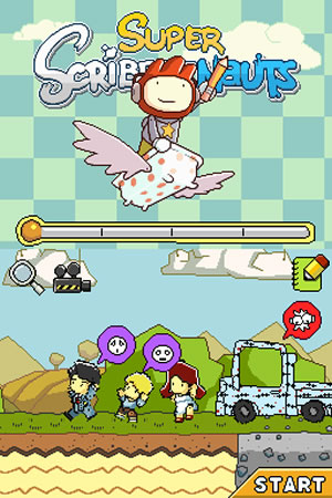 Super Scribblenauts - NDS