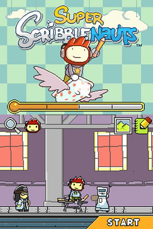 Super Scribblenauts - NDS Image