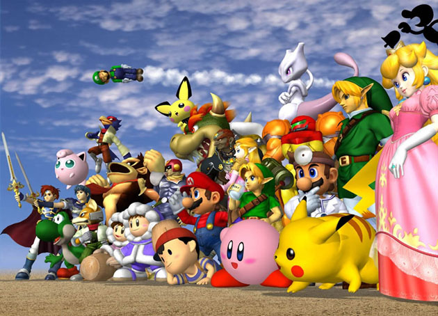 Super_smash_bros_melee_-_gamecube_-_1