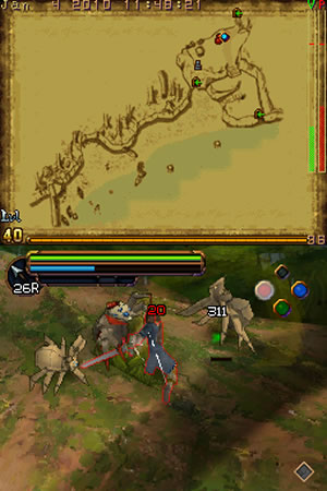 The Lord of the Rings: Aragorn's Quest - NDS Image