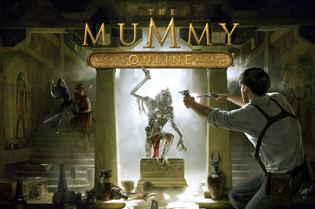 The Mummy Online Boxart