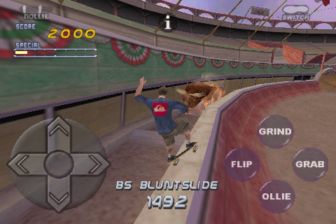 Tony Hawk's Pro Skater 2 for iPhone - MB Boxart